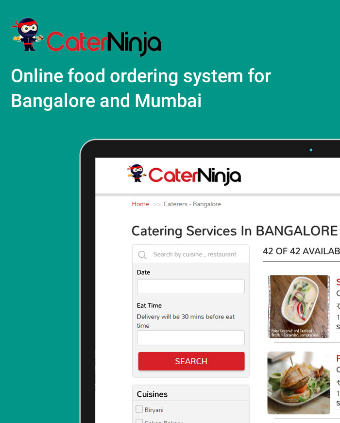 food ordering system bangalore