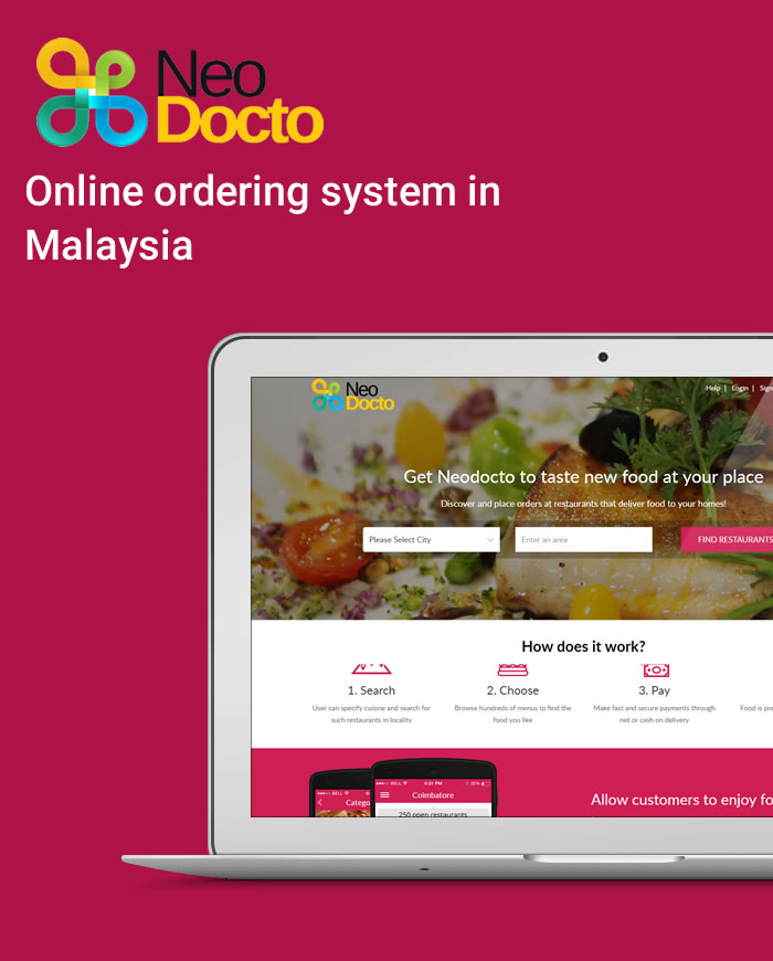 online ordering delivery system